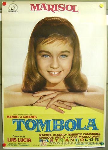 Tómbola de Marisol, poster original