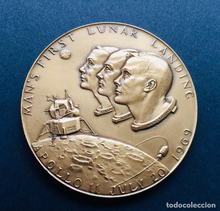 Medalla conmemorativa Apollo 11
