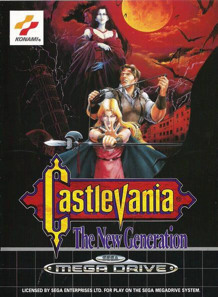Castlevania de Sega Mega Drive