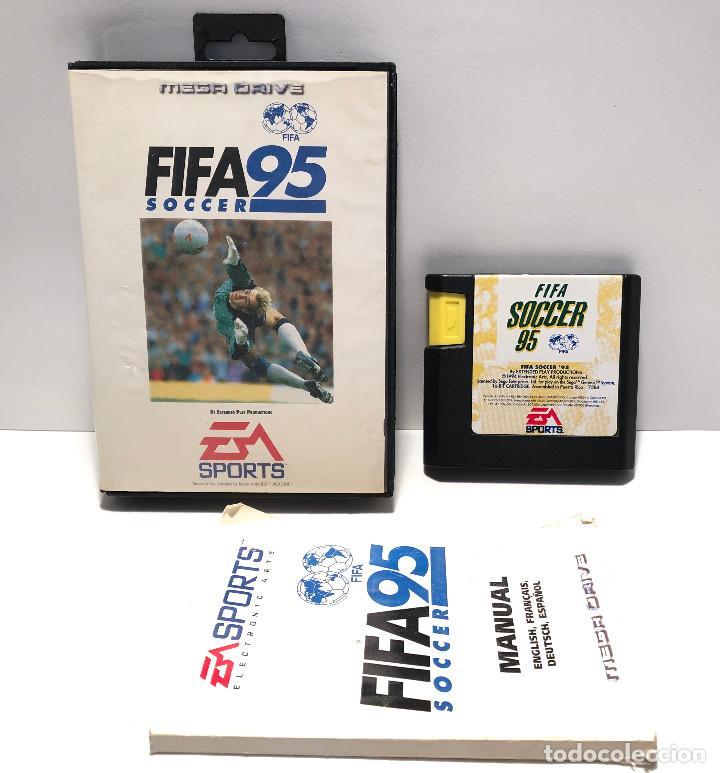 Fifa 95 de Sega Mega Drive