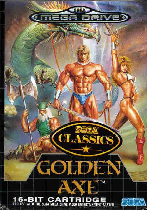 Golden Axe de Sega Mega Drive