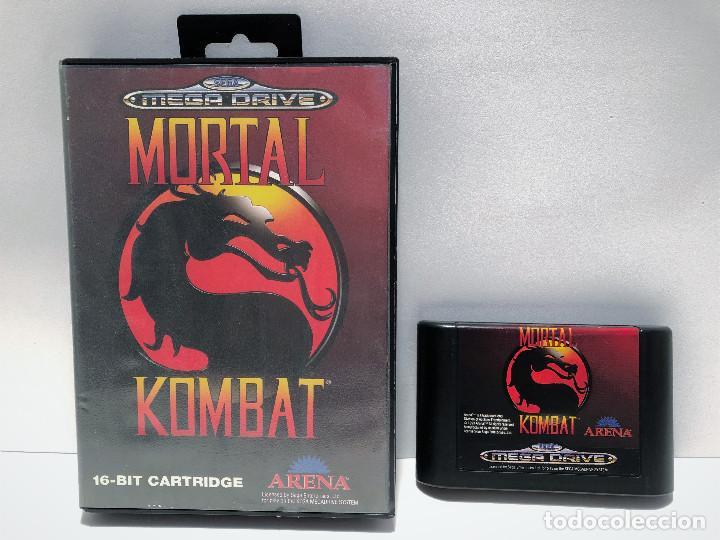 Mortal Kombat de Sega Mega Drive