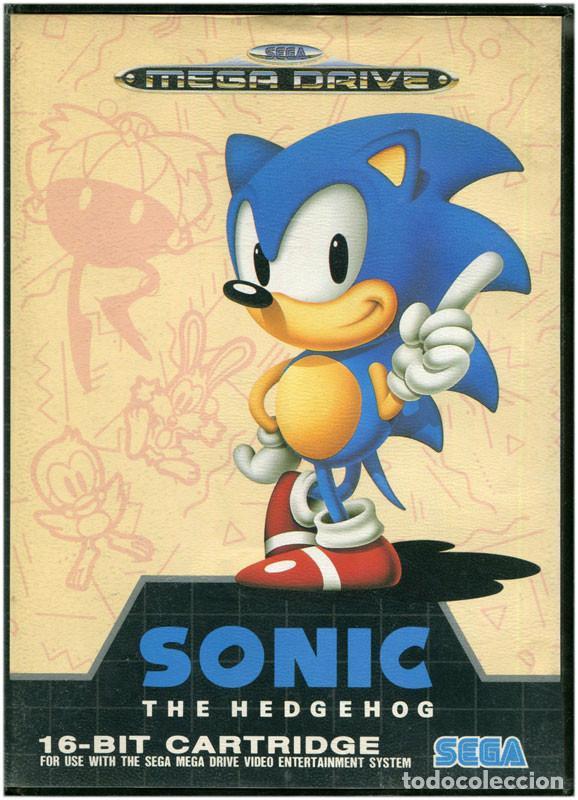 Sonic de Sega Mega Drive