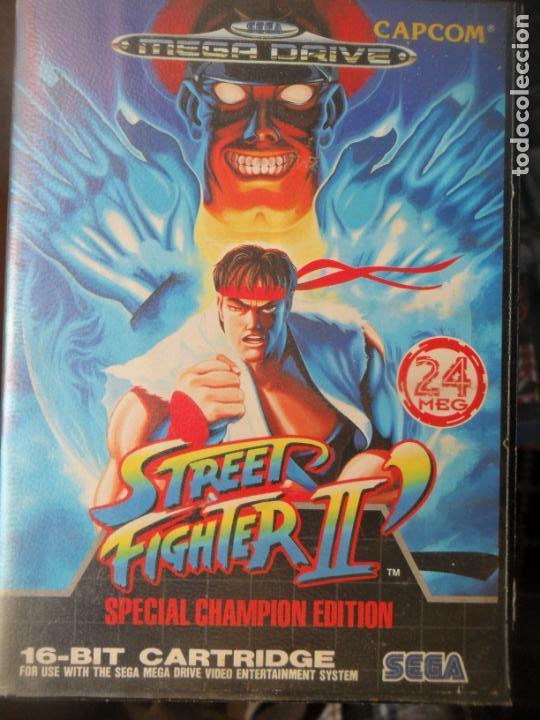 Street Fighter II de Sega Mega Drive