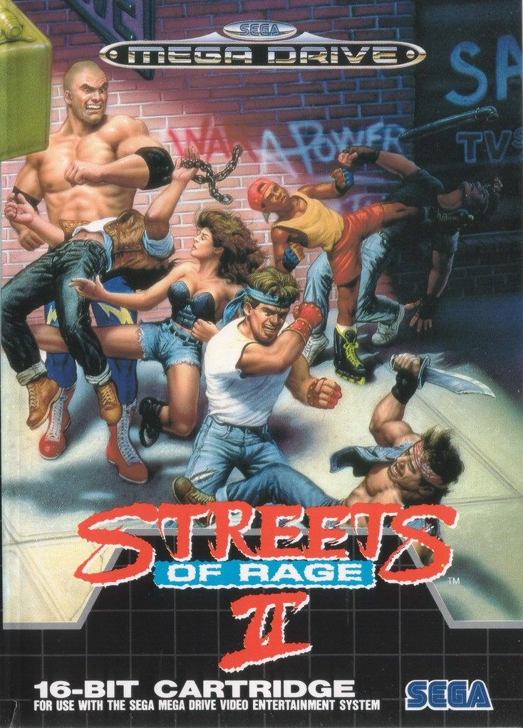 Street of rage de Sega Mega Drive