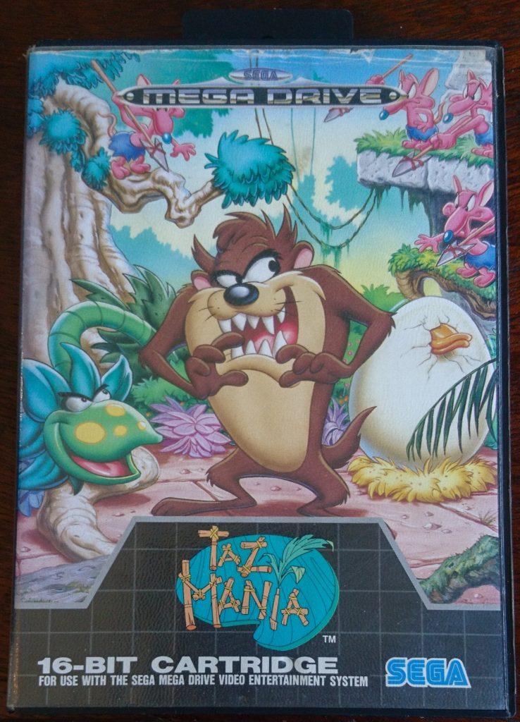 Taz-Mania de Sega Mega Drive