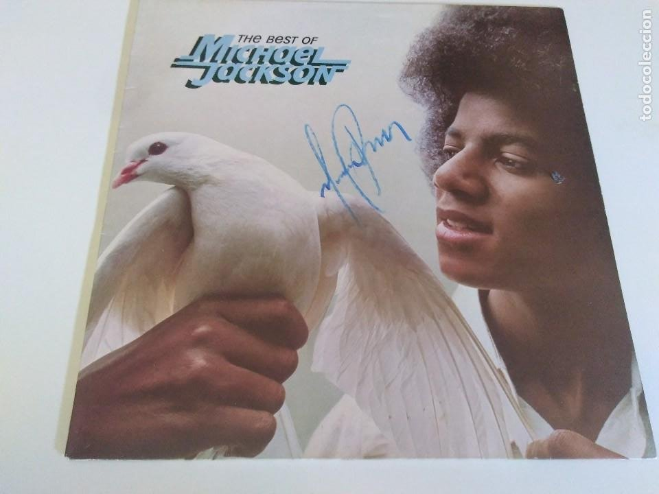 The best of Michael Jackson firmado