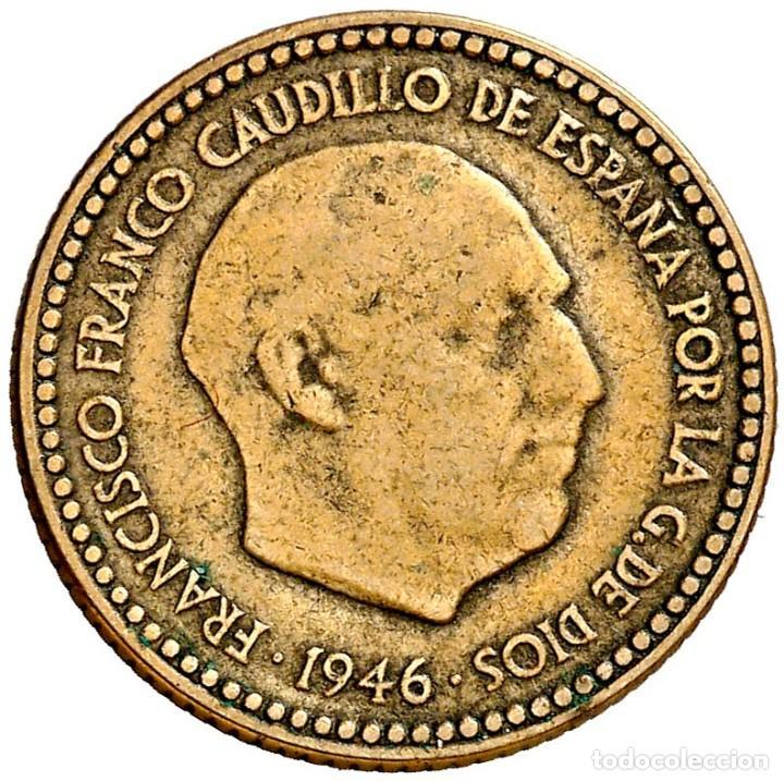 Moneda 1 peseta 1946*48