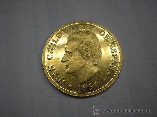 Moneda de oro Juan Carlos I