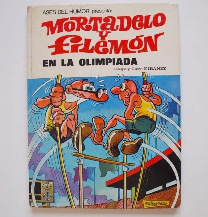 Mortadelo y Filemón en las Olimpiadas