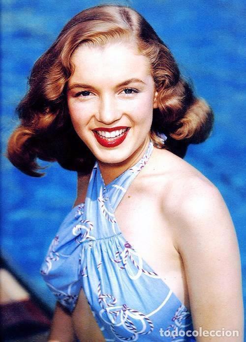 Marilyn Monroe castaña