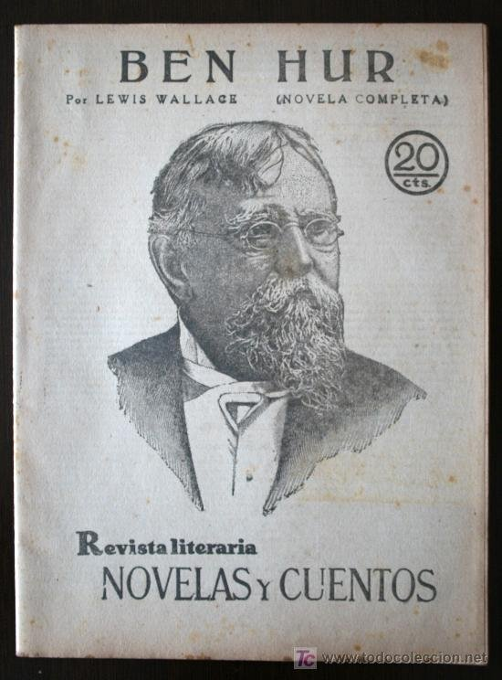 Libro Ben Hur de Lewis Wallace