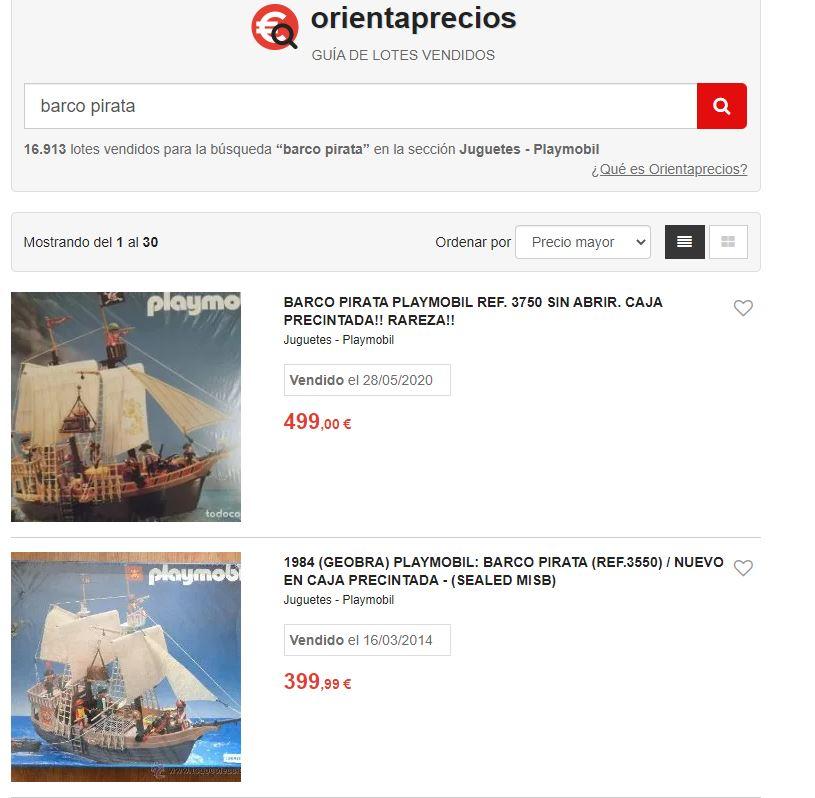 Orientaprecios barco pirata