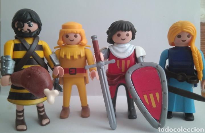 Playmobil personajes Capitán Trueno