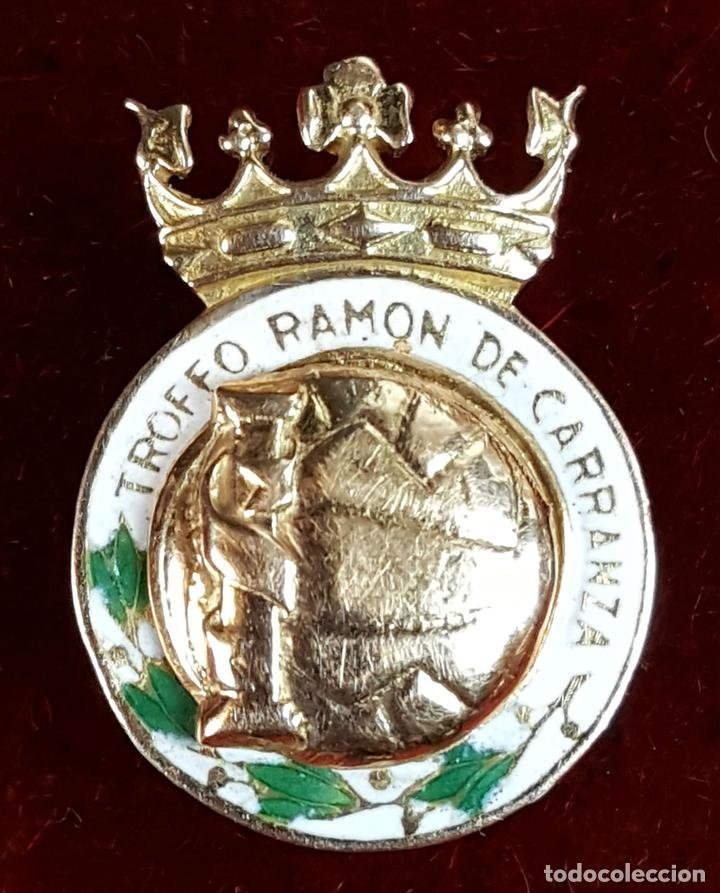 Pin del trofeo Ramón Carranza