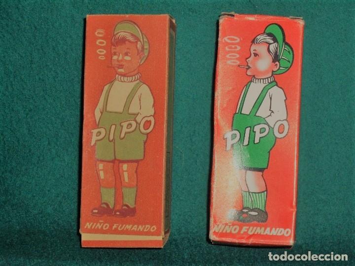 Pipo muñeco fumando