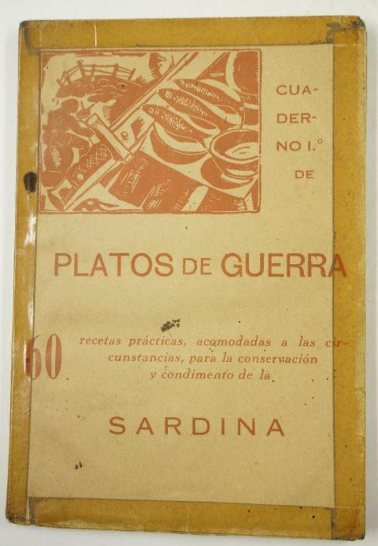 Platos de guerra de José Guardiola Ortiz