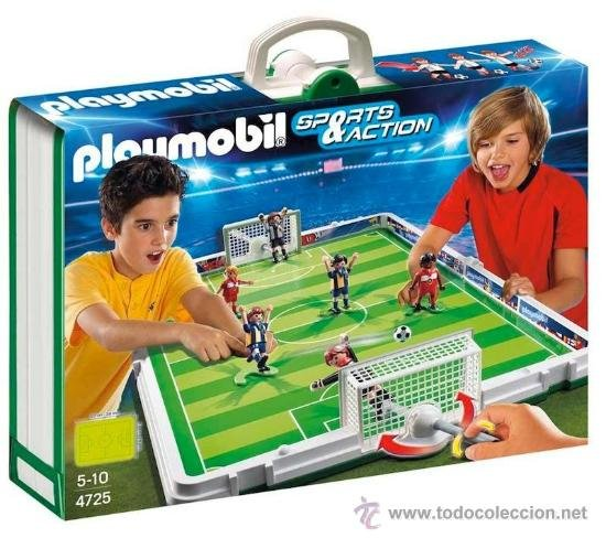 Set Playmobil fútbol