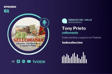 Podcast con Tony Prieto de sellomania