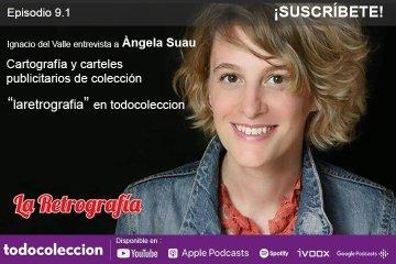 """Podcast: Àngela Suau de """"La Retrografía"""""""