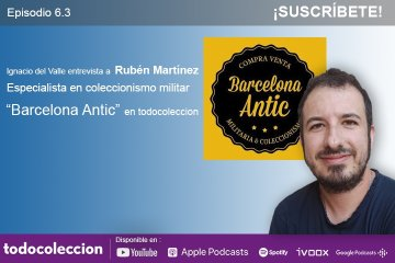 Podcast Rubén Martínez de Barcelona Antic