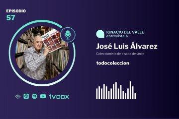 José Luis Álvarez, coleccionista de vinilos