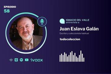 Juan Eslava Galán, escritor y coleccionista