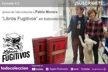Pablo Morera y Ana Llorca de Libros Fugitivos