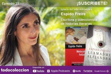 Podcast con Espido Freire