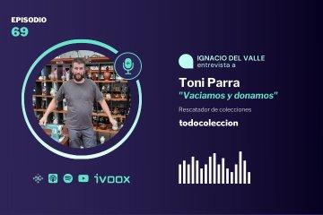 """Toni Parra de """"Vaciamos y donamos"""""""