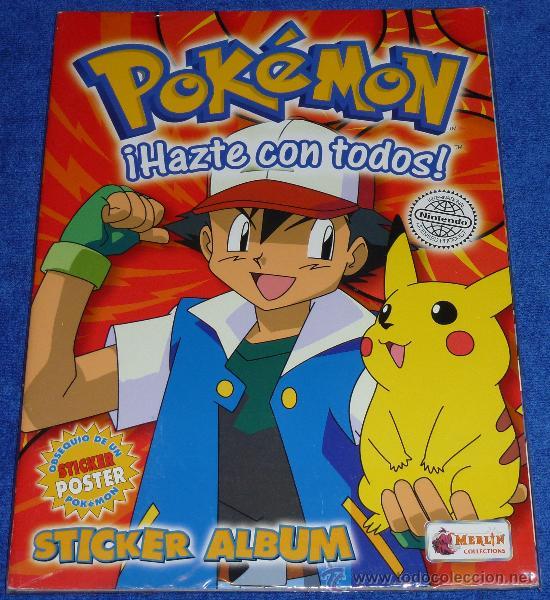 Álbum Pokémon hazte con todos