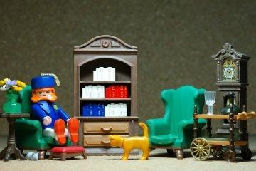 Playmobil salón coleccionista.