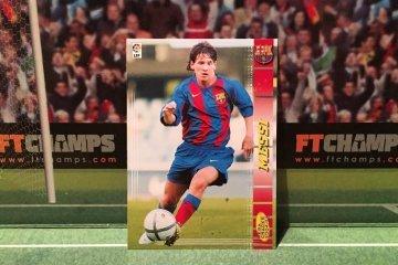 Cromo Leo Messi.