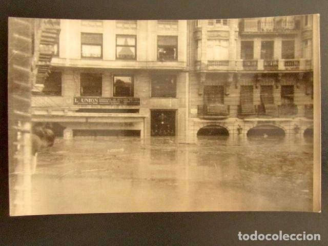 Postal inundaciones de Valencia (1957)