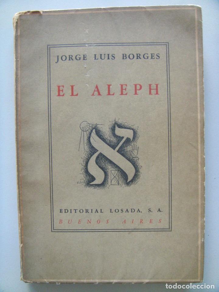Primera edición de El Aleph de Borges