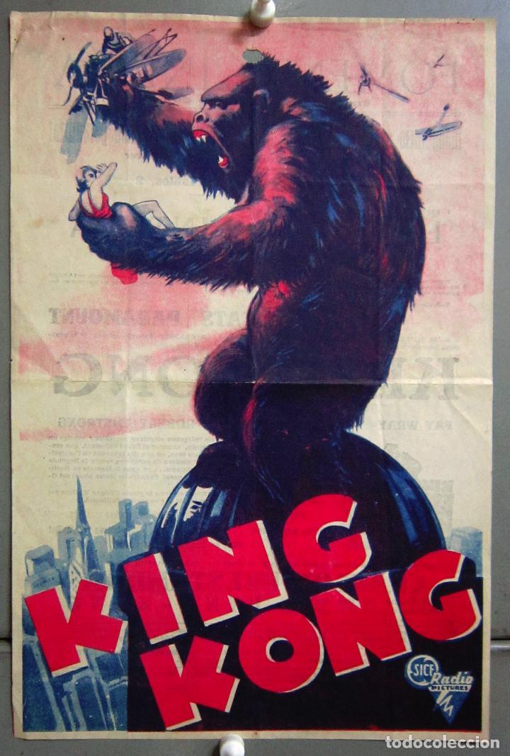 Programa de mano de King Kong