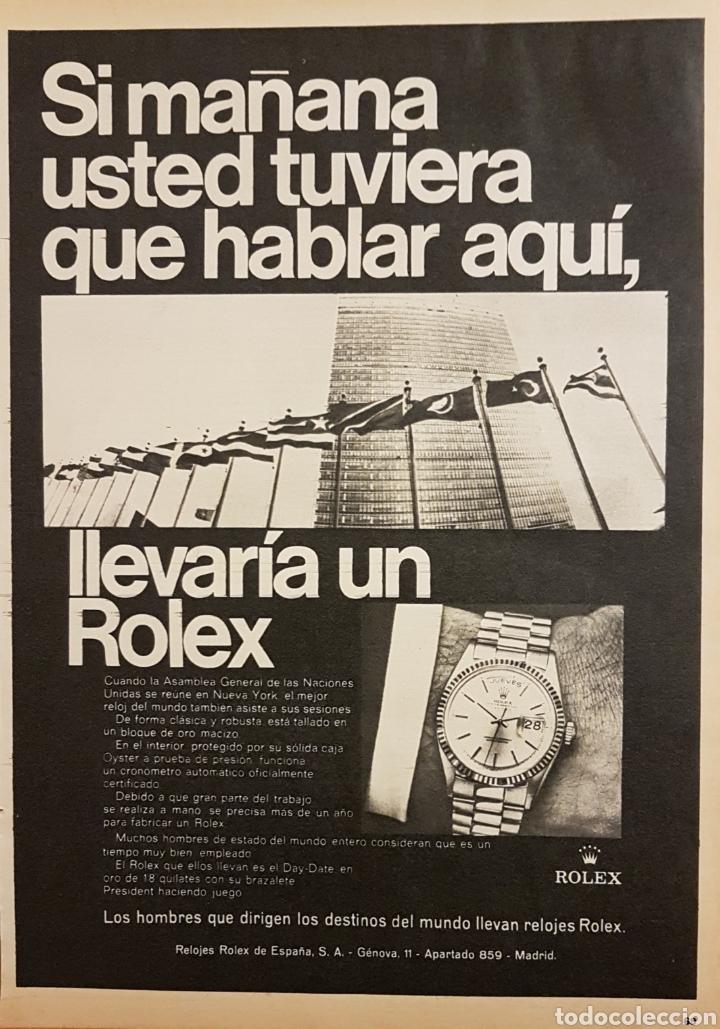 Publicidad de Rolex