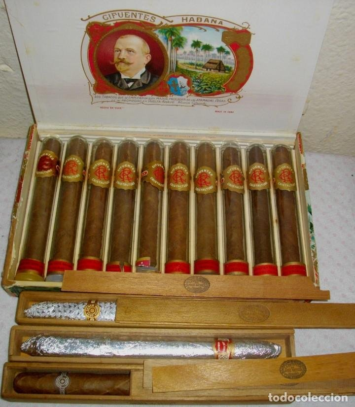Caja de puros Cifuentes de La Habana