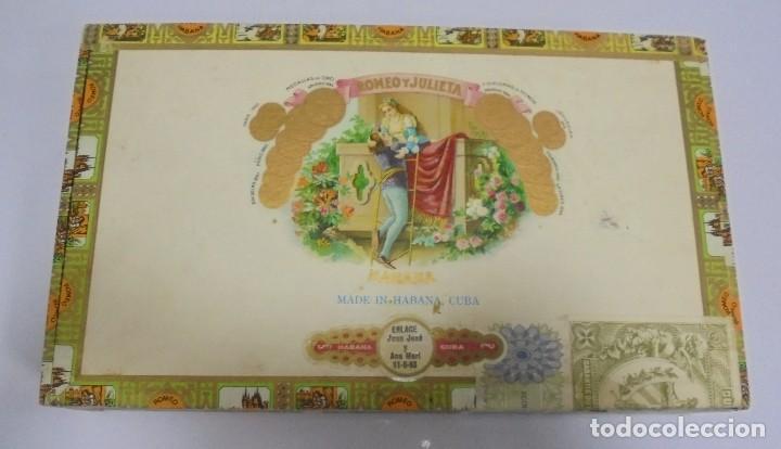 Caja de puros Romeo y Julieta
