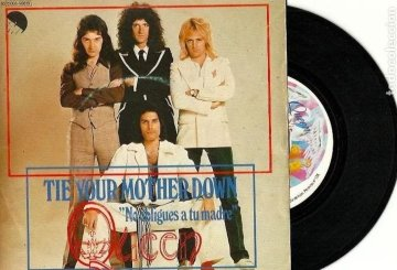 Vinilo de Queen: Tie your mother down