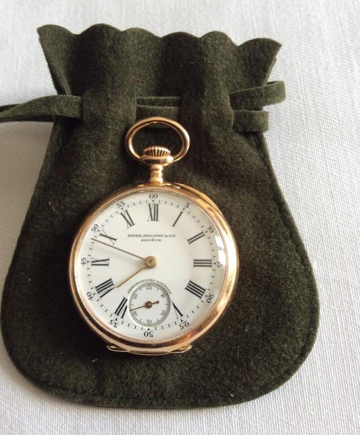 Reloj de bolsillo Patek Philippe