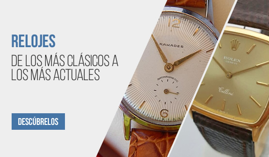 Relojes clásicos y actuales
