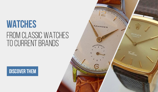 Classic and modern watches