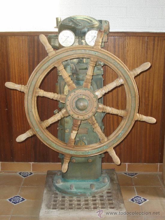 Timón - Antigüedades náuticas
