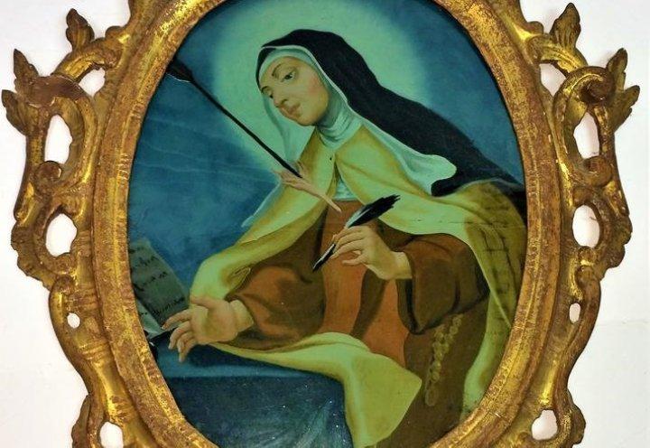 Pintura de Teresa de Jesús