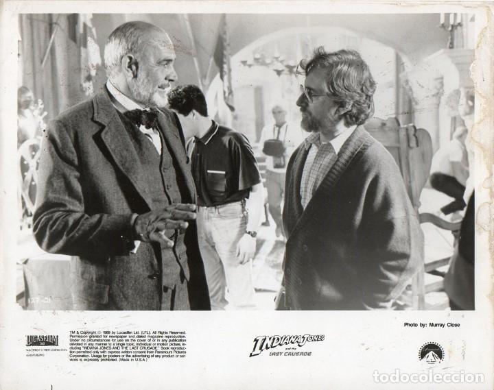Sean Connery como el Dr. Jones