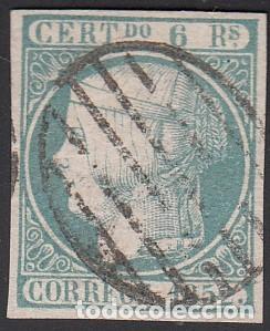 Sello España Edifil, 1852