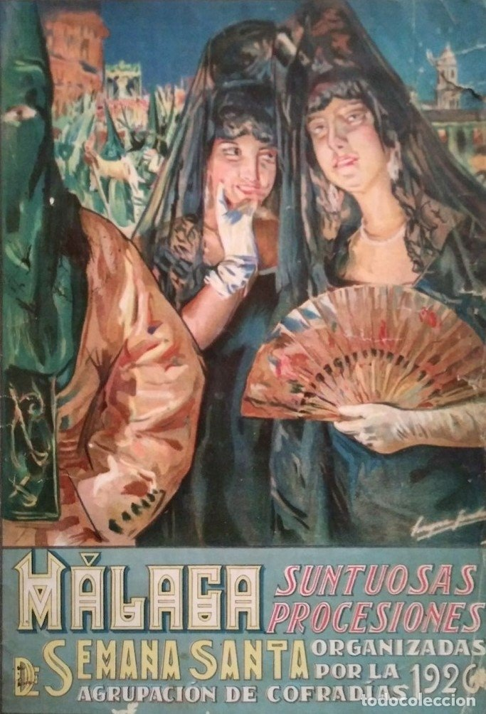 Cartel Semana Santa Málaga 1926