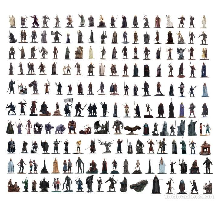 Figuras de plomo de El señor de los anillos