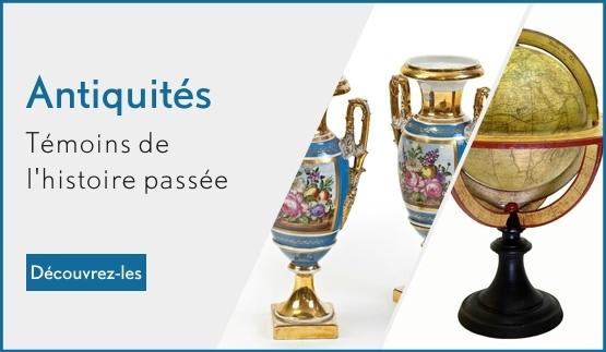 Achat en ligne d'antiquités